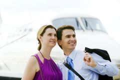 Man and woman stock photography