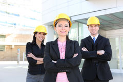 Man and Woman Architect Team Royalty Free Stock Photography