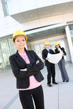Man and Woman Architect Team Royalty Free Stock Photo