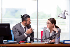 The man and woman in business concept Stock Photo