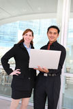 Man and Woman Business Team stock images