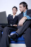 man and woman business team Stock Image