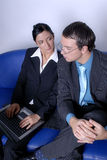man & woman business team Stock Image
