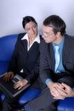 Man & woman business team Stock Image