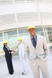 Man and Woman Construction Team Royalty Free Stock Image