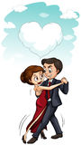Man and woman dancing together Royalty Free Stock Photo