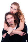 Man and woman embracing Stock Photography