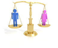 Man - Woman Equality Royalty Free Stock Image