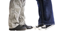 Man And Woman Feet Royalty Free Stock Photo