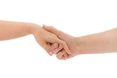 Man and woman hands Royalty Free Stock Image