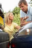 Man And Woman Having Argument Stock Image