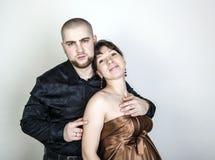 Man and woman hugging Royalty Free Stock Photos