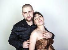 Man and woman hugging Stock Image