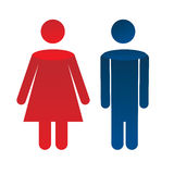 Man woman icon Royalty Free Stock Photos