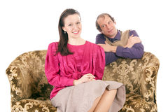 Man and woman love Royalty Free Stock Images