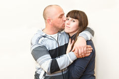Man and woman a loving couple together Royalty Free Stock Photo