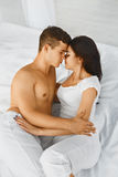 Man and woman loving each other. Royalty Free Stock Image