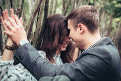 Man and woman. A men and women who loved each other Stock Photography