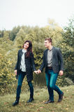 Man and woman. A men and women who loved each other Royalty Free Stock Photo