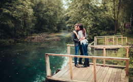 Man and woman. A men and women who loved each other Stock Images