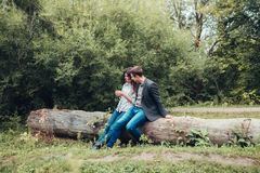 Man and woman. A men and women who loved each other Royalty Free Stock Images
