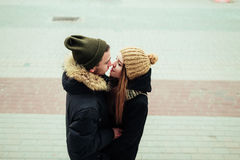 Man and woman. A men and women who loved each other Royalty Free Stock Photos