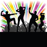 Man and woman party vector Stock Image