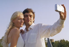 Man and woman photograph yours Royalty Free Stock Photo