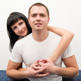 Man and woman. Royalty Free Stock Photos