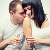 Man and woman. Royalty Free Stock Photo