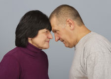Man and woman. Royalty Free Stock Photography