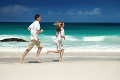 Man and woman romantic couple Stock Images