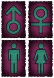 Man woman symbol  Royalty Free Stock Photography