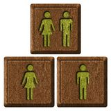 Man and woman symbol royalty free stock photos