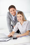 Man and woman together Stock Photo