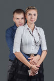 Man and woman Royalty Free Stock Photo