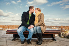 Man and woman Stock Images