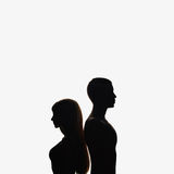 Man and woman Stock Image