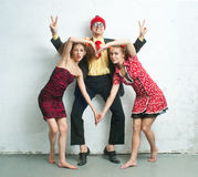 Man with women Royalty Free Stock Images