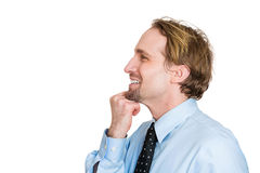 Man wondering Royalty Free Stock Image