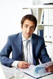 Man at work Royalty Free Stock Image