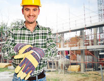 Man at work Royalty Free Stock Photo