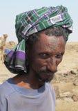 Man at work, Ethiopia royalty free stock image