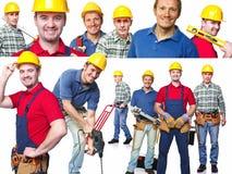 Man at work Stock Image
