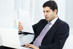 Man working Royalty Free Stock Image