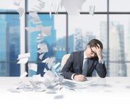 Man working Royalty Free Stock Image