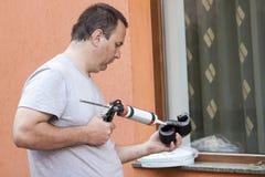 Man working Stock Photos