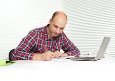 Man working at office Royalty Free Stock Photography