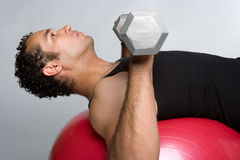 Man Working Out Royalty Free Stock Images