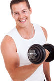 Man working out Stock Photo
